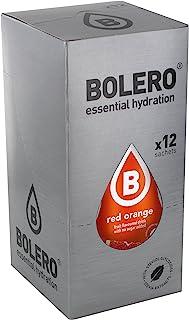 comprar comparacion Bolero Bebida Instantánea sin Azúcar, Sabor Naranja Roja - Paquete de 12 x 9 gr - Total: 108 gr