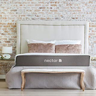 Nectar King Mattress + 2 Pillows Included - Gel Memory Foam - CertiPUR-US Certified - 180 Night Home Trial - Forever Warranty