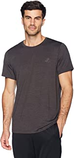 Peak Velocity Men's Short Sleeve Quick-Dry Fitted Performance T-Shirt