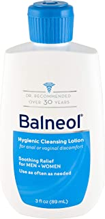 Balneol Hygienic Cleansing Lotion, 3.0-Ounce Bottles (Pack of 6)