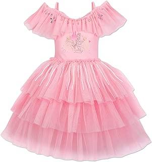 Princess Deluxe Leotard for Kids Pink