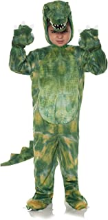 بذلة من القطيفة مطبوع على شكل تمساح للأطفال الصغار من آندروارب