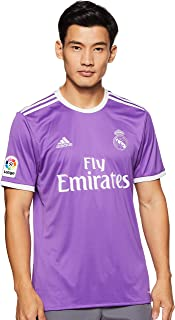 Adidas Real Madrid 2016/17 Short Sleeve Away Jersey - Adult - Ray Purple/Crystal White -
