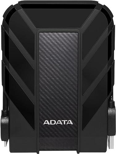 ADATA HD710 2TB Durable Shockproof External Hard Drive, Black
