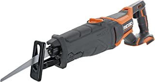 Ridgid R8642 Gen5X 18V Lithium Ion Cordless Reciprocating Saw with Tool-Free Blade Changing, Sight Line Blowing, and Varia...
