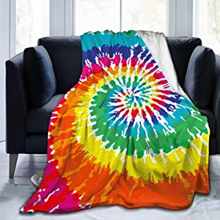 Funny Cute Omelette Egg Sunflower Colourful Rainbow Super Soft Plush Cozy Warm Flannel Throw Blanket All Season for Couch Bed Sofa Camping Kids Small 50 x 40 Inch(Throw) Kids