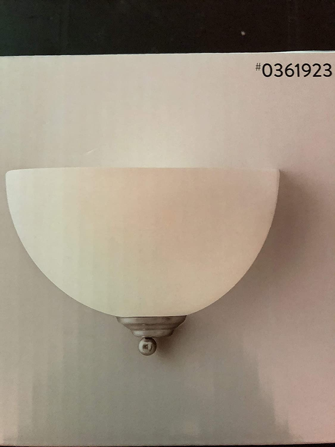 Brushed Nickel Wall Sconce 10  Inch W 1-Light Living Room Bedroom Fixture New