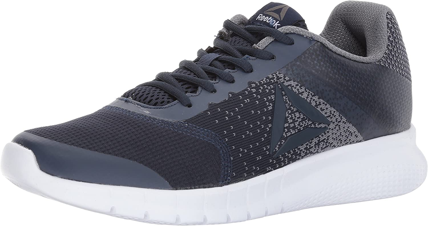 Reebok Hommes's Instalite courir chaussures, coll. Navy Asteroid dust blanc Pewter, 9 M US