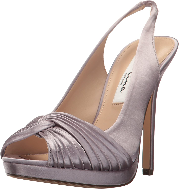NINA Woherren Felyce Dress Pump, ls-Royal Silber, 7 M M US  Rabattaktionen