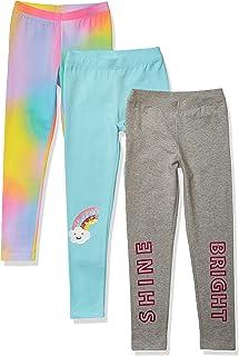 Girls Trousers Pants Leggings Gymnastics Sports Age 4-10 Girls Children