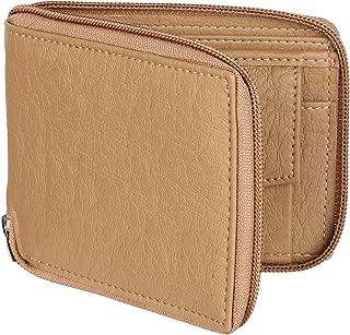 TRICFIX Men Casual Beige PU Leather Wallet