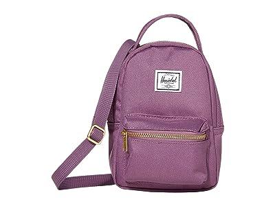 Herschel Supply Co. Nova Crossbody (Grape) Handbags