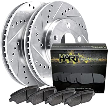2004 2005 2006 2007 Chevy Colorado OE Replacement Rotors w//Metallic Pads F