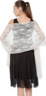 Best lace shawl ivory Reviews