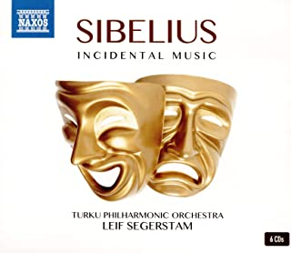 Sibelius, J.: Incidental Music (Turku Philharmonic, Segerstam) (6-CD Box Set)