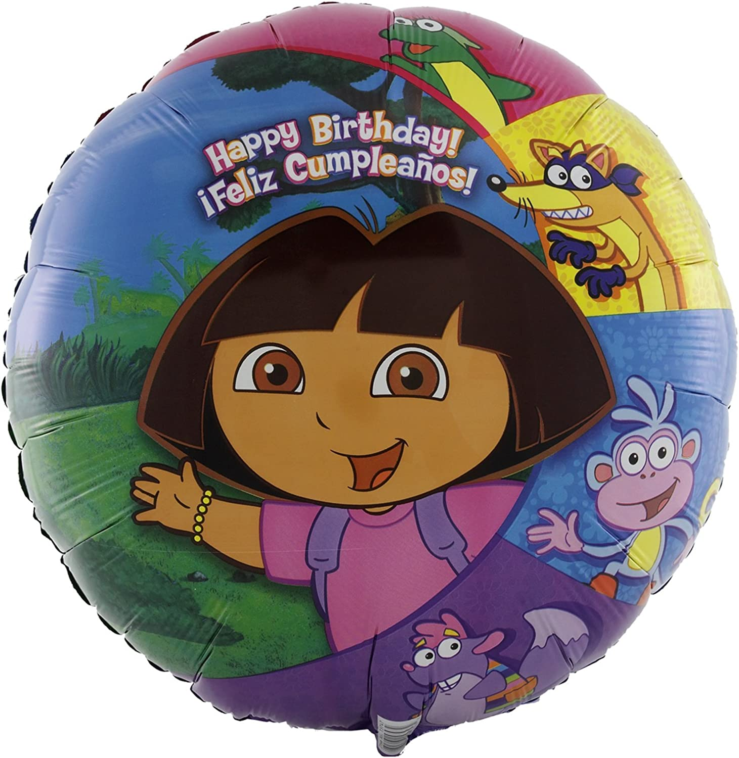 Party Destination 169027 Dora and Friends 18 in. Foil Balloon