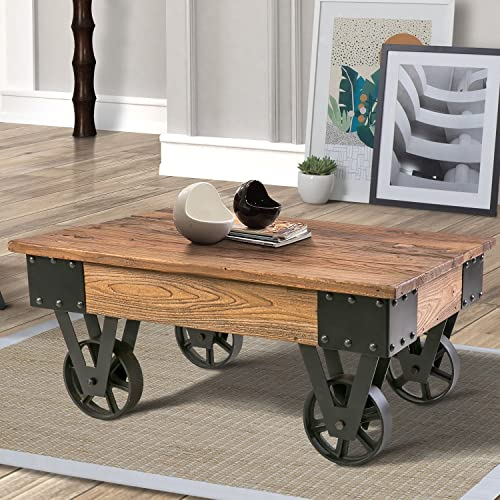 Coffee Tables On Wheels For Living Rooms Amazon Com