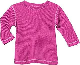 City Threads Boys Girls Thermal Tee Tshirt Warm Base Layering Lounging