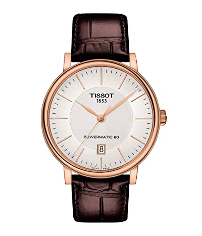 Tissot T-Classic Carson Premium Powermatic 80 T1224073603100 (Silver) Watches