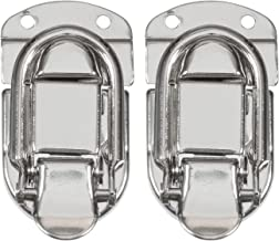 Reliable Hardware Company RH-2610-2-A Set of 2 Small Size Nickle Plated Briefcase Latch
