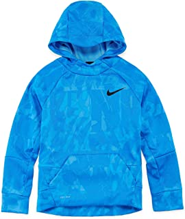 Nike Big Boys' Dri-Fit Therma Pullover Sweatshirt Hoodie