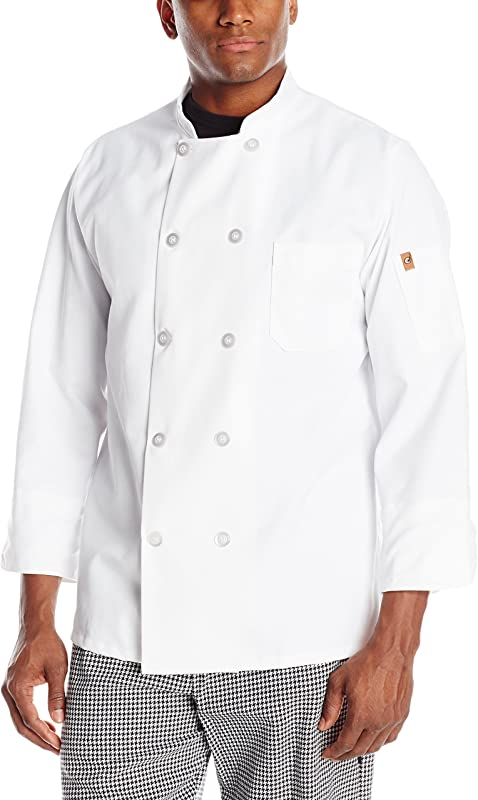 Chef Designs Men S Rk Ten Pearl Button Chef Coat
