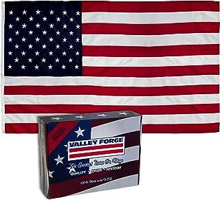 PERMA-NYL US5PN American Flag, 5'x8', Red,White,Blue