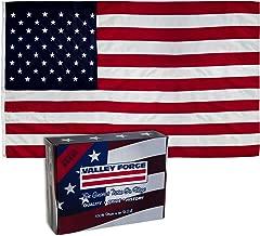 PERMA-NYL 60211000 American Flag, 6'x10', Red,White,Blue