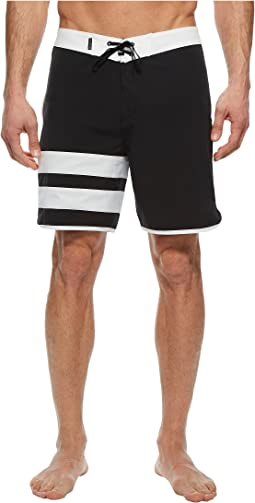 "Phantom Block Party Solid 18"" Boardshorts"