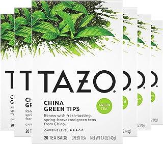 Tazo China Green Tips Green Tea, 20 Count (Pack of 6)