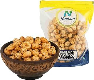 Neelam Foodland (Mumbai) Roasted Makhana Masala, Popped Lotus Seeds, Tea Coffee Snacks, Tasty and Healthy Indian Food and ...