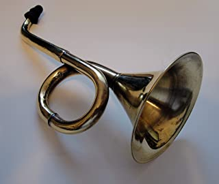 Ear Trumpet Genuine Brass Horn for The Hard of Hearing Crowd. Great Party Gag Gift!