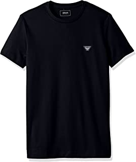 Men's Plus Size Cotton Jersey Small Eagle Logo Tshirt