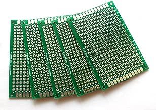 Penta Angel 10pcs Double-Side Prototype PCB Universal Printed Circuit Board Universal PCB Circuit Board (4x6cm)