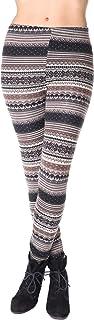 Leggings flauschig blickdicht figurbetont Stretch 33582