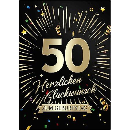 Mann jahre geburtstagskarte 50 50. Geburtstag: