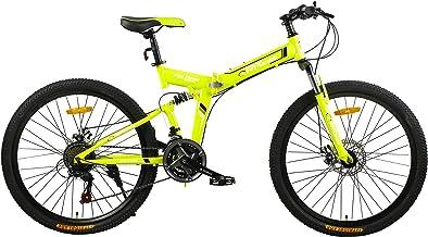 Fitness Minutes Folding Bike, Yellow, FM-F26-04S-YE