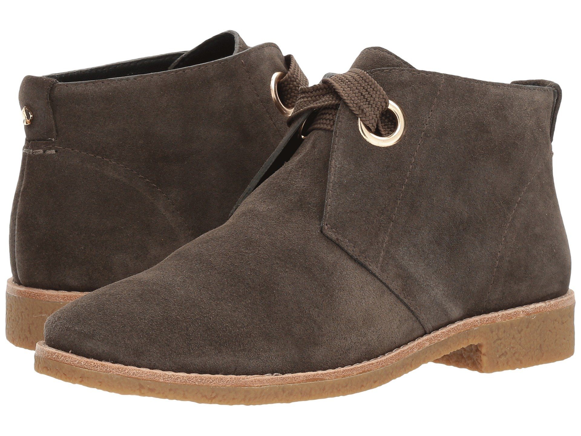 Barrow, Olive Green Cow Suede