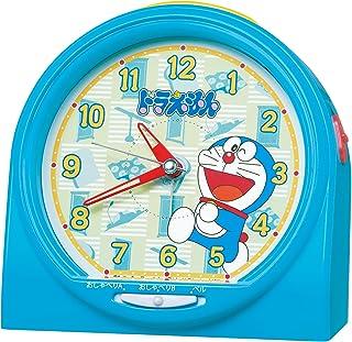 セイコー クロック 目覚まし時計 ドラえもん おしゃべり アラーム アナログ 青 CQ137L SEIKO