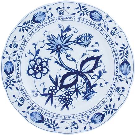Preisvergleich für Kahla Rossella Speiseteller, Teller, Porzellan, Zwiebelmuster, 26 cm, 173403A72067U