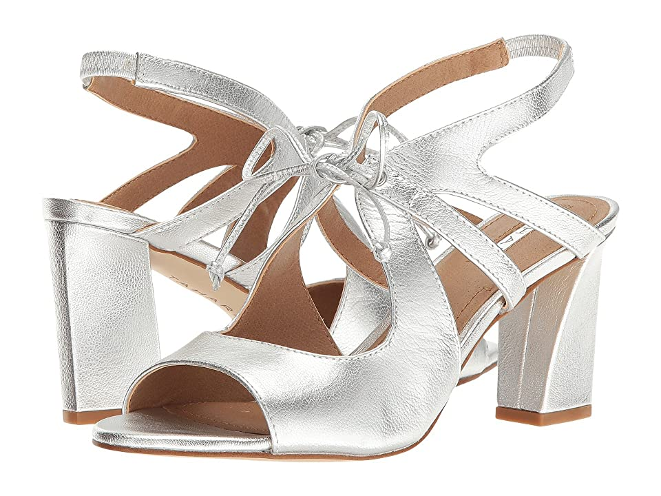 Tahari Night (Silver Jersey Metallic) High Heels
