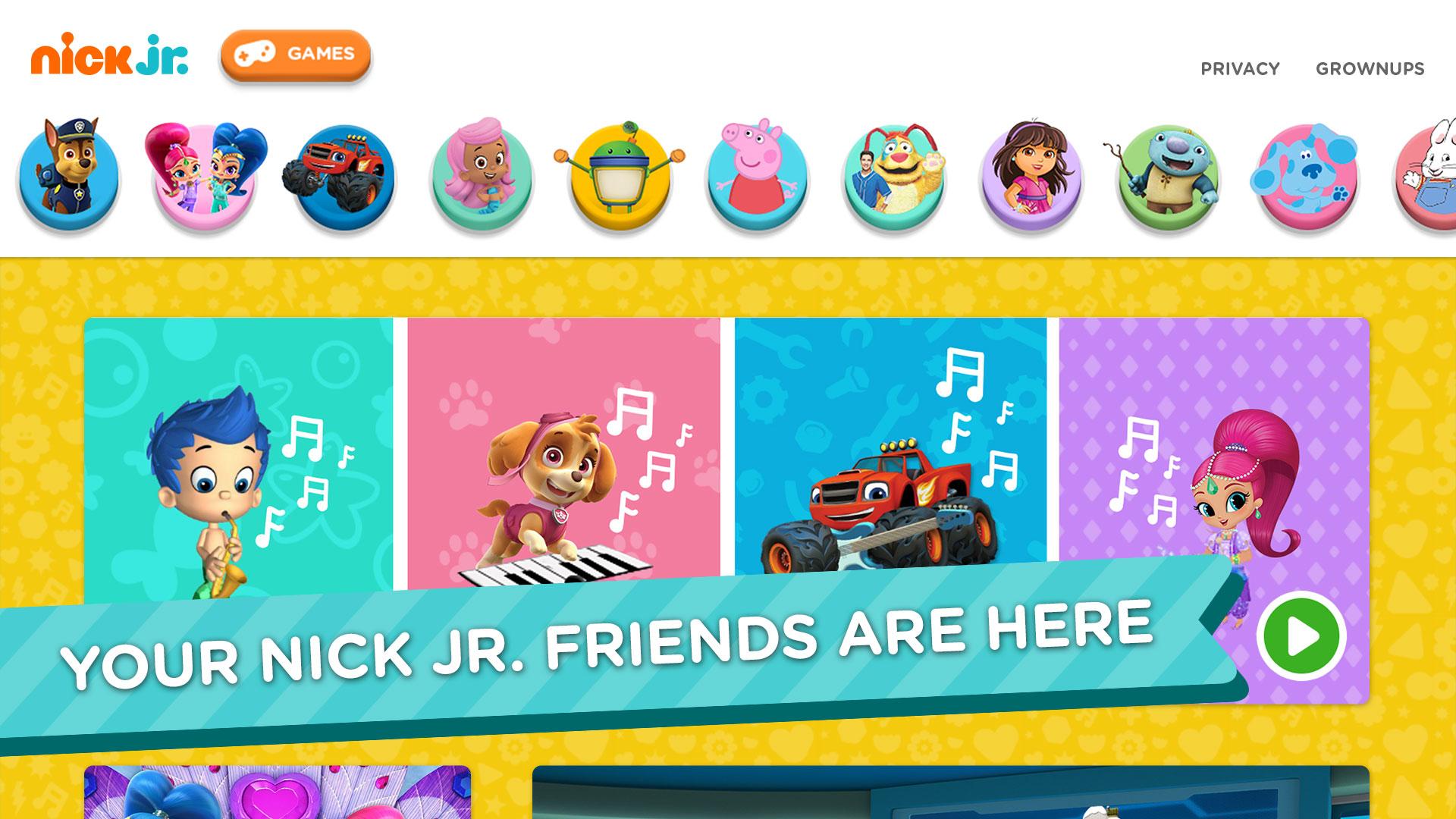 Nick Jr. - Shows & Games