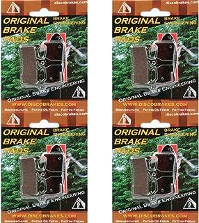 4 Pairs/8Pads Hope Mono M4 Semi Metallic Disc Brake Pads +4Sprng MTB DH XC M 4