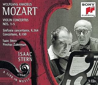 Mozart: Violin Concertos No. 1 - 5, Sinfonia Concertante, Concertone