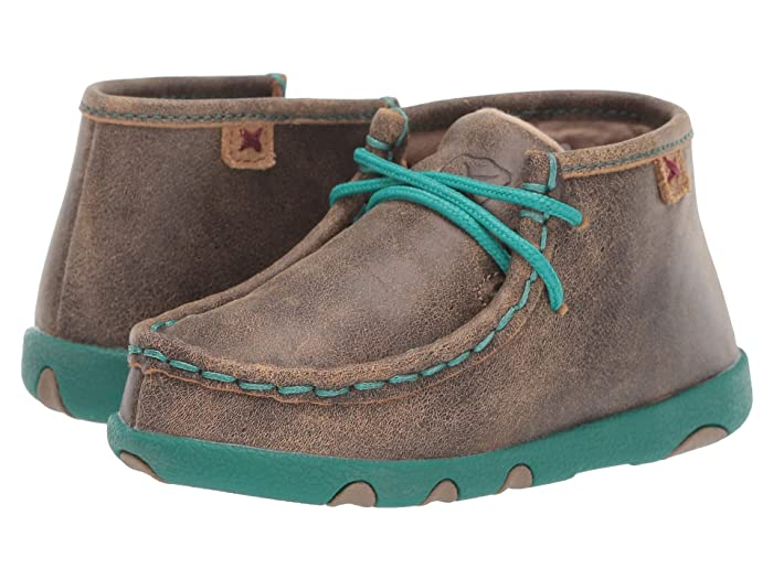 Twisted X  Driving Moc (Infant/Toddler) (Bomber/Turquoise) Shoes