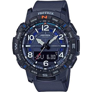 Casio Men's Pro Trek Bluetooth Connected Quartz Sport Watch with Resin Strap, 22.2