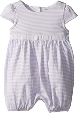 Ralph Lauren Baby - Striped Cotton Jersey Romper (Infant)