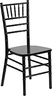 Flash Furniture HERCULES Series Black Wood Chiavari Chair