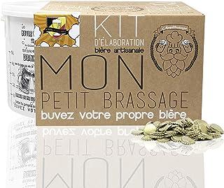 #Cervezanía Kit Brassage Bière | Tripel Blonde Ale 8,5% ALC. | Levure d'abbaye Belge | Bière Artisanale pour brasser à la ...