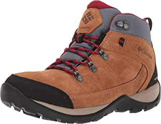 Columbia Women's Fire Venture Suede II Mid Boot, Waterproof & Breathable